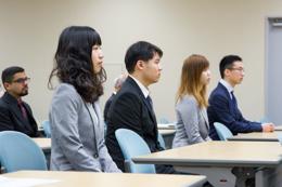 平成26年度国際交流センター入学式