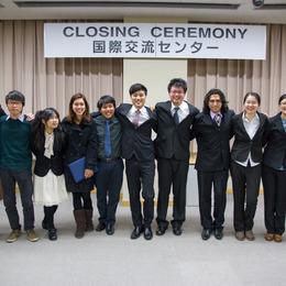 平成25年度秋学期 国際交流センター修了式の報告<br /><span>2014年3月24日</span>