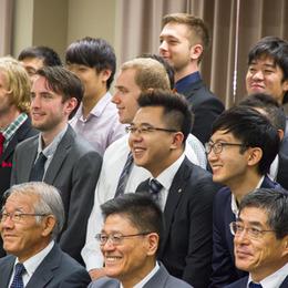 平成26年度秋学期 国際交流センター入学式の報告<br /><span>2014年10月16日</span>