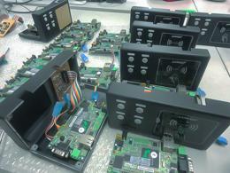 電子スタンプ認識機器