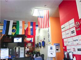 Plug&Play Tech Centerの玄関